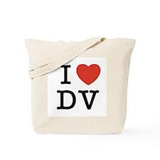 I Heart DV Tote Bag