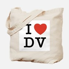 I Heart DV Tote Bag