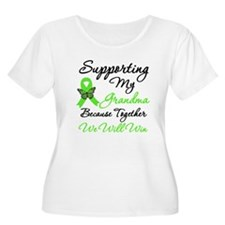 Lymphoma Support (Grandma) T-Shirt