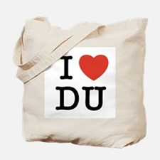I Heart DU Tote Bag