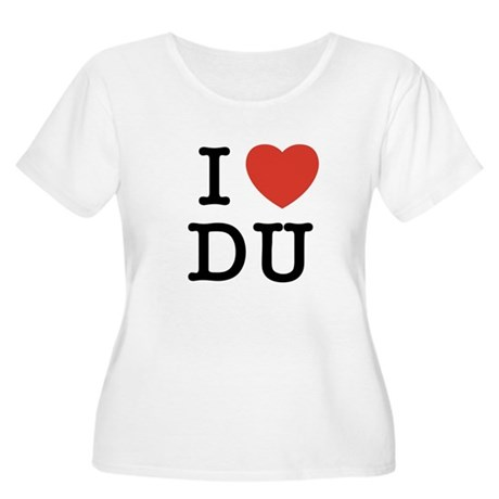 I Heart DU Women's Plus Size Scoop Neck T-Shirt