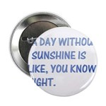"A day with no sunshine 2.25"" Button (10 pack)"