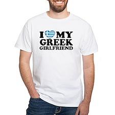 I love My Greek Girlfriend Shirt