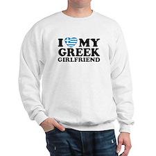 I love My Greek Girlfriend Sweatshirt