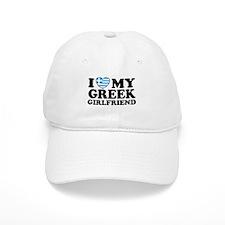 I love My Greek Girlfriend Baseball Cap