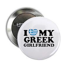 I love My Greek Girlfriend Button