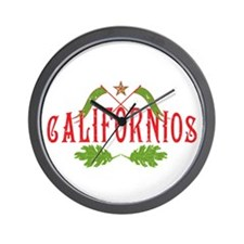 Californios Wall Clock