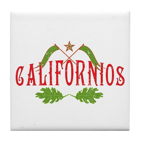Californios Tile Coaster