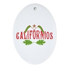 Californios Oval Ornament