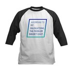 The Problem Doesn't Exist Kids Baseball Jersey