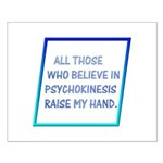 Raise My Hand Small Poster