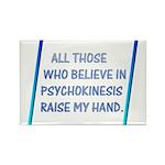 Raise My Hand Rectangle Magnet