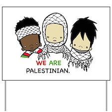 Funny Palestine Yard Sign