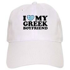 I love My Greek Boyfriend Baseball Cap