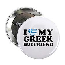 I love My Greek Boyfriend Button