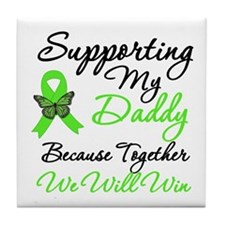Lymphoma Support (Daddy) Tile Coaster