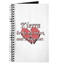 Kierra broke my heart and I hate her Journal