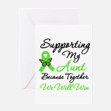 Lymphoma Support (Aunt) Greeting Card