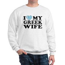 I love My Greek Wife Sweatshirt