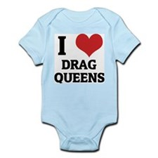 I Love Drag Queens Infant Creeper