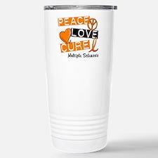 PEACE LOVE CURE MS Travel Mug