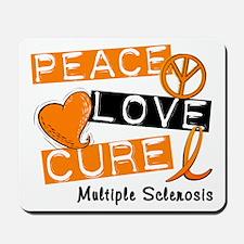 PEACE LOVE CURE MS Mousepad