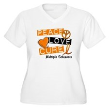 PEACE LOVE CURE MS T-Shirt