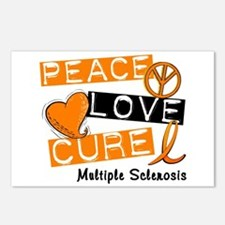 PEACE LOVE CURE MS Postcards (Package of 8)