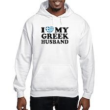 I love My Greek Husband Hoodie