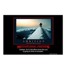Cute Demotivational Postcards (Package of 8)