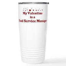 Valentine: Food Service Manag Travel Mug