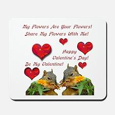 Squirrel Love Mousepad