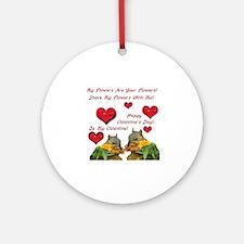 Squirrel Love Ornament (Round)