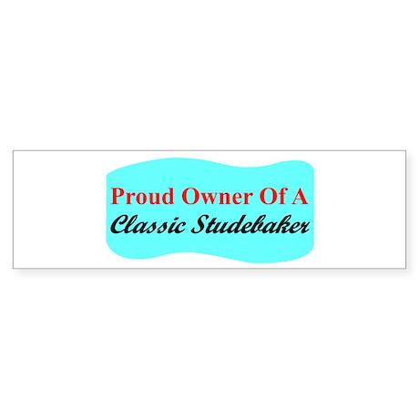 """Proud Stude Owner"" Bumper Sticker (10 pk)"