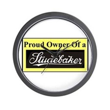 """Proud Stude Owner"" Wall Clock"