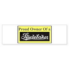 """Proud Stude Owner"" Bumper Bumper Stickers"