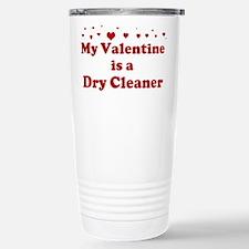 Valentine: Dry Cleaner Stainless Steel Travel Mug