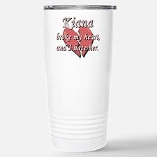 Kiana broke my heart and I hate her Travel Mug