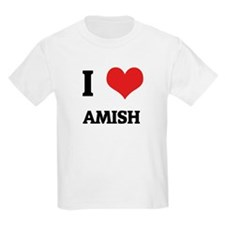 I Love Amish Kids T-Shirt