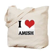 I Love Amish Tote Bag