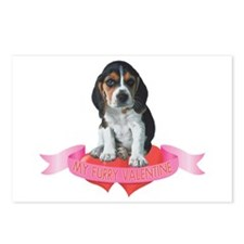 Beagle Valentine Postcards (Package of 8)