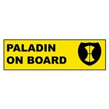 """On Board"" series Bumper Bumper Sticker"