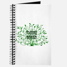 Cute Go green tote Journal