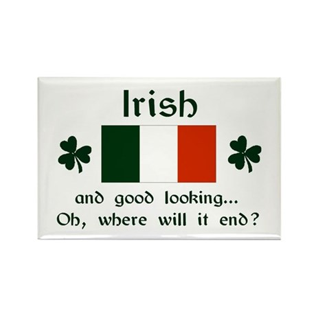 Good Looking Irish Magnet (3x2)