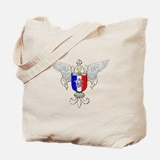 French Graphic Tote Bag