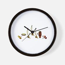 Capoeira Bateria Wall Clock