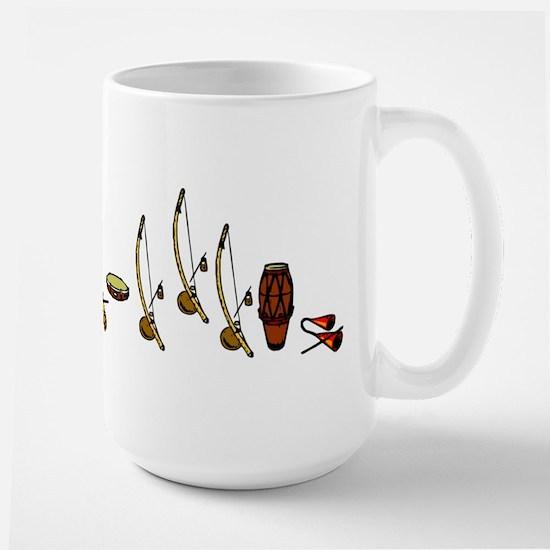 Capoeira Bateria Large Mug