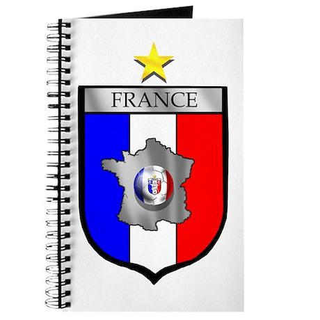 Flag of France Soccer Journal