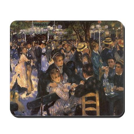 Dance at Le Moulin de la Galette by Renoir Mousepa