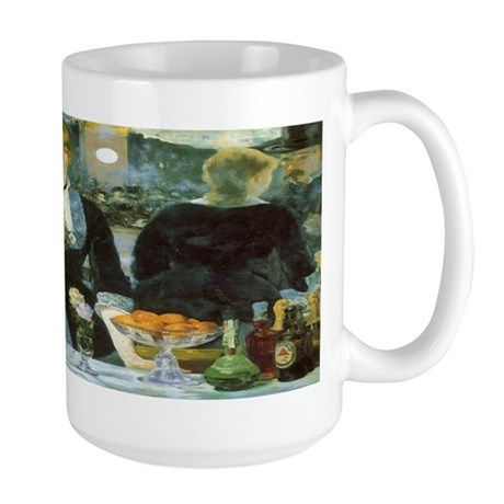 Manet, A Bar at the Folies-Bergere Large Mug